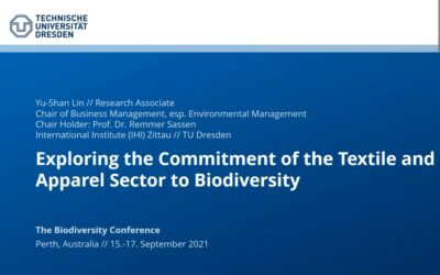 Exploring the commitment and potentials of the textile and apparel industry to biodiversity: Insights from GRI reports in different organizational sizes